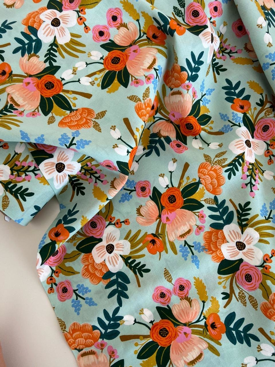 Amalfi - Lively Floral-rayon (вискоза)