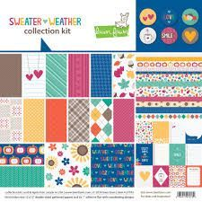 Lawn Fawn-sweater weather collection kit